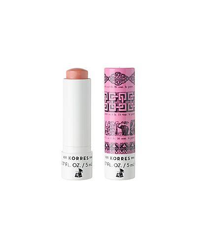 Бальзам для губ розовый Korres