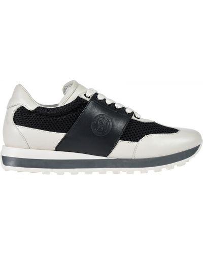 Кожаные кроссовки - белые Peserico