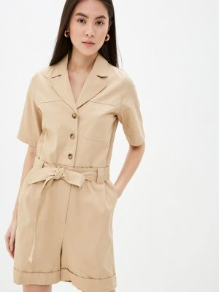 Комбинезон с шортами - бежевый Selected Femme