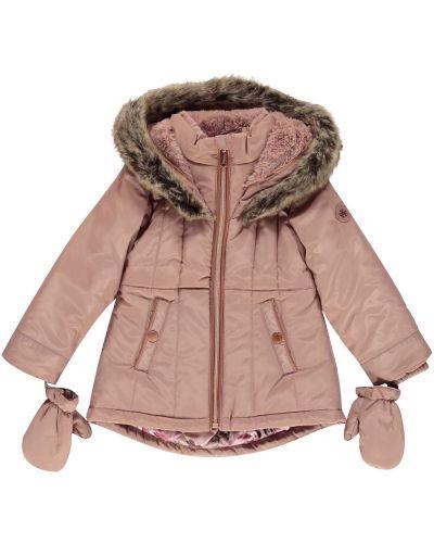 Różowa kurtka z kapturem Firetrap