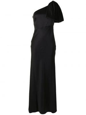Черное платье на одно плечо Sachin & Babi