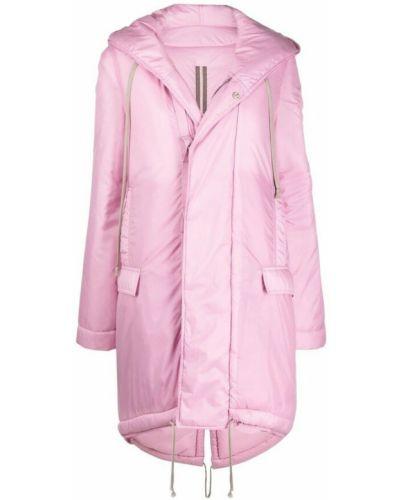 Płaszcz - różowy Rick Owens