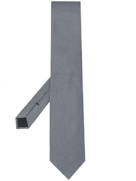 Шелковый серый галстук с подкладкой Tom Ford