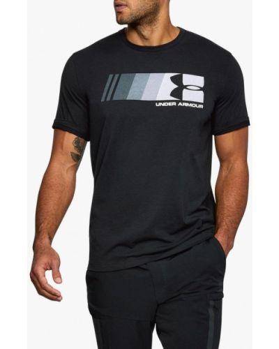 Спортивная футболка черная Under Armour