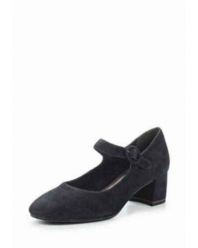 Синие туфли с застежкой на лодыжке Tamaris