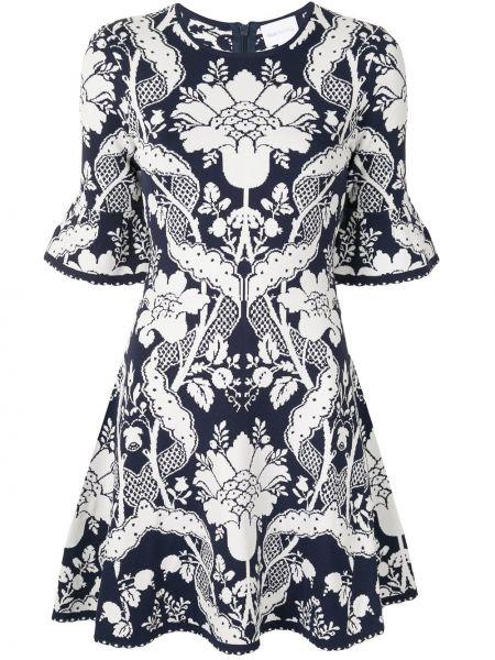 Платье мини с цветочным принтом на молнии Alice Mccall