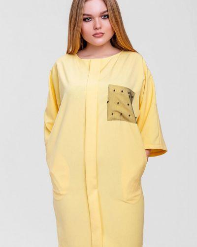 Желтое платье Sfn