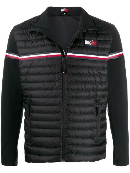 Черная куртка на молнии с карманами с перьями Rossignol