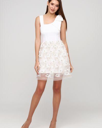 Гипюровое вечернее платье - белое Rinascimento