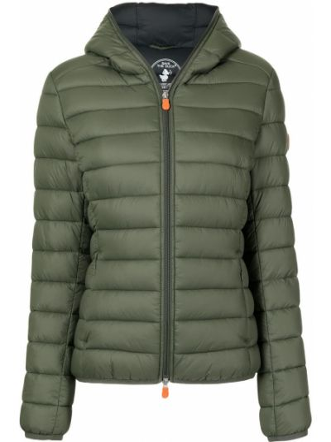 Стеганая куртка - зеленая Save The Duck