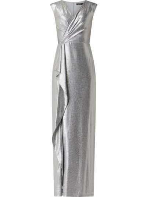 Sukienka wieczorowa, srebro Lauren Ralph Lauren