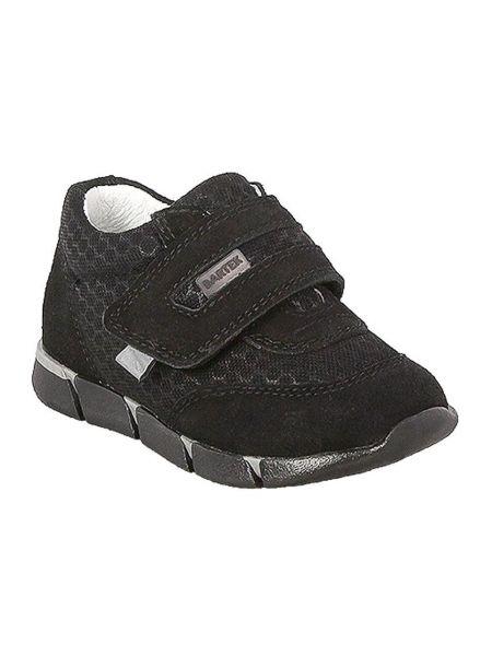 Кожаные кроссовки - черные Bartek