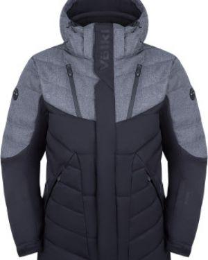 Куртка с капюшоном черная спортивная Volkl