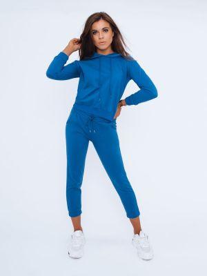Garnitur materiałowy - niebieski Dstreet