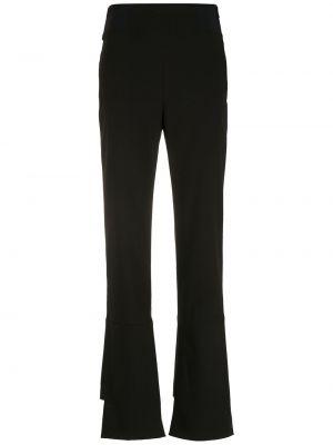 Зауженные брюки - черные Gloria Coelho