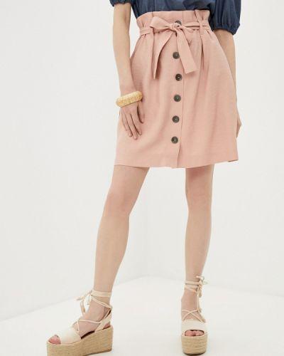 Розовая юбка свободного кроя Raya