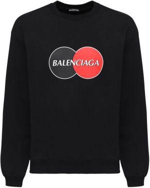 Bluza na szyi przeoczenie Balenciaga
