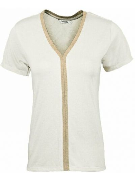 Beżowa koszula Kaporal