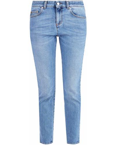 Укороченные джинсы классические на пуговицах Alexander Mcqueen