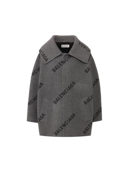 Пальто с воротником пальто Balenciaga