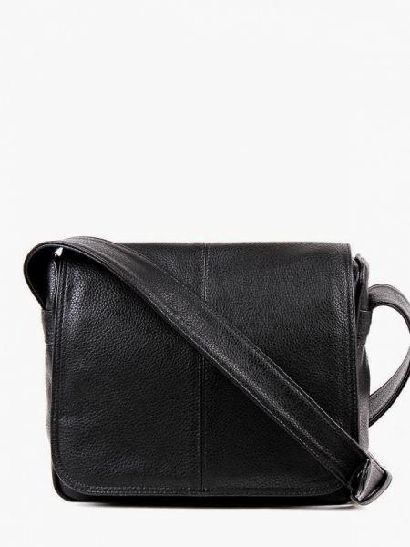 Черная кожаная сумка с перьями из искусственной кожи медведково
