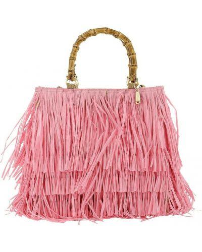 Różowa torebka La Milanesa