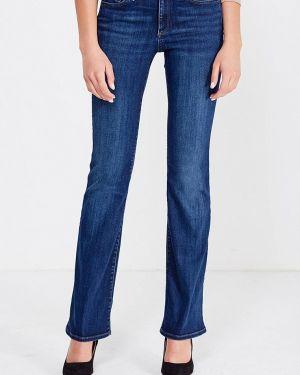 Широкие джинсы расклешенные синие Gap