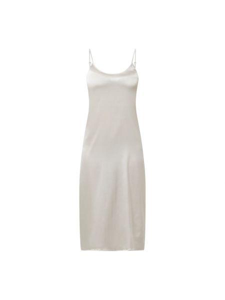 Biała koszula nocna z jedwabiu Chiara Fiorini