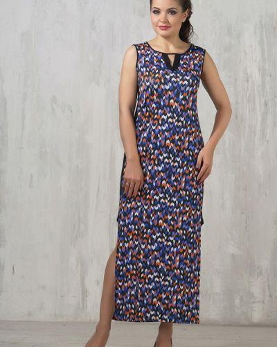 Платье из микрофибры синее Vay
