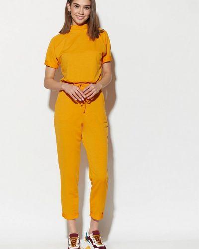 Комбинезон спортивный желтый Karree