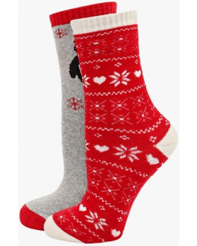 Разноцветные носки - серые Alcott