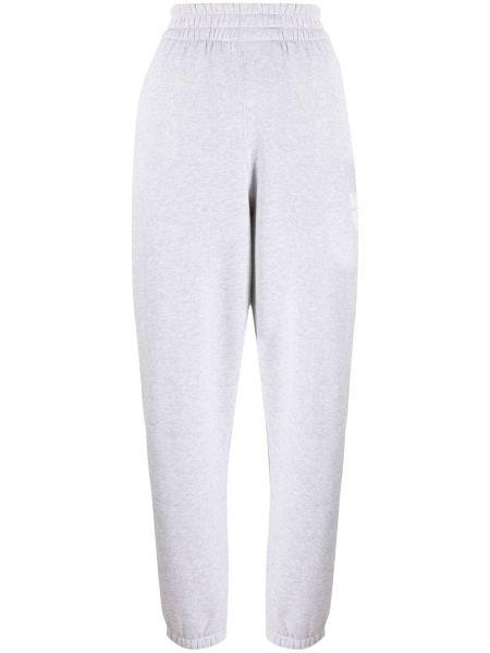 Światło bawełna bawełna sportowe spodnie z mankietami Alexander Wang