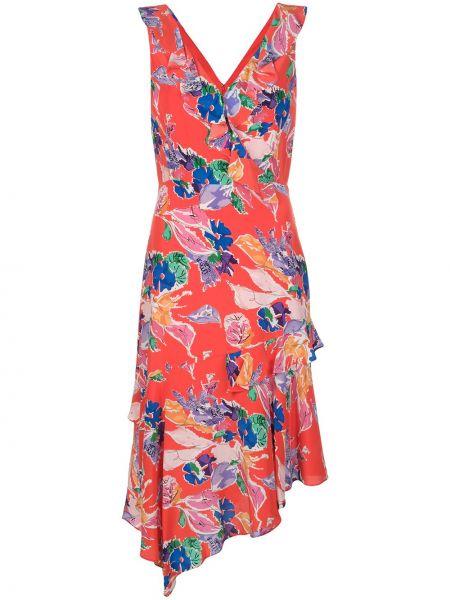 Платье с открытой спиной с запахом Milly