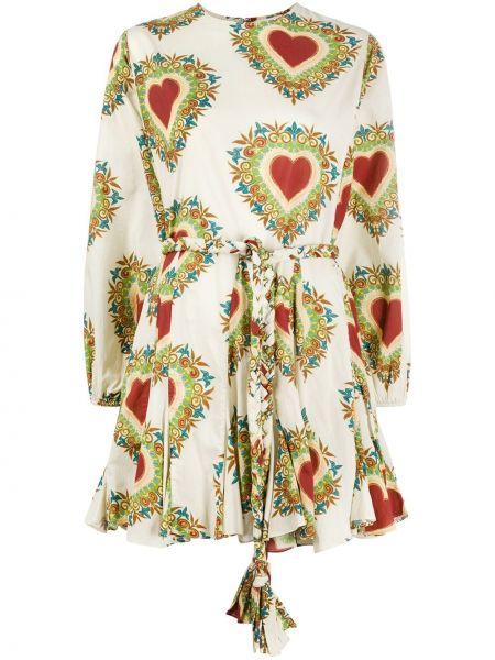 Платье макси с поясом с рукавами Rhode Resort