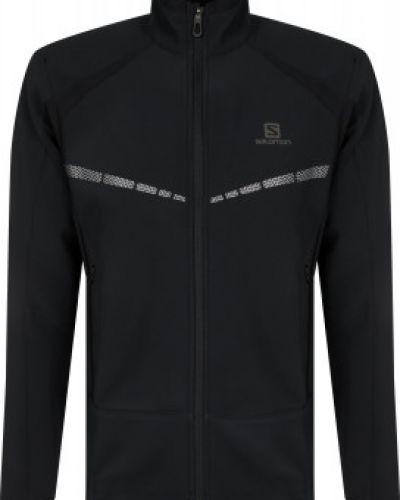 Черная куртка для бега на молнии Salomon