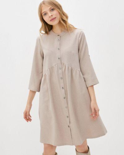 Платье - бежевое очаровательная адель