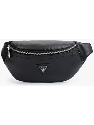 Черная сумка осенняя Guess