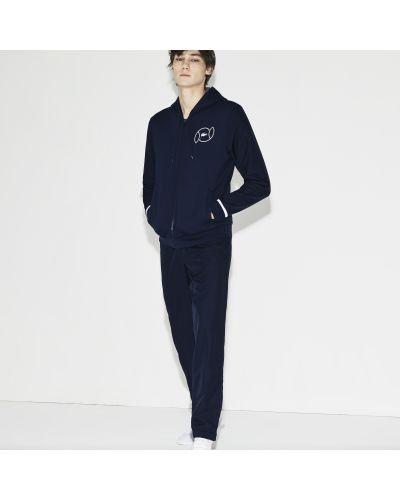 Спортивный костюм синий темно-синий Lacoste
