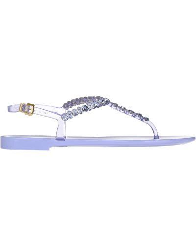 Силиконовые сандалии - фиолетовые Menghi