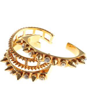Biała złota bransoletka ze złota Mawi