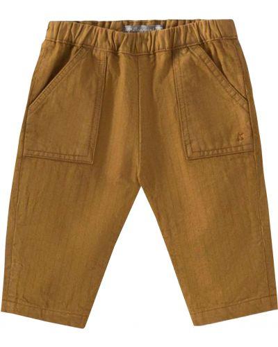Коричневые брюки Bonpoint