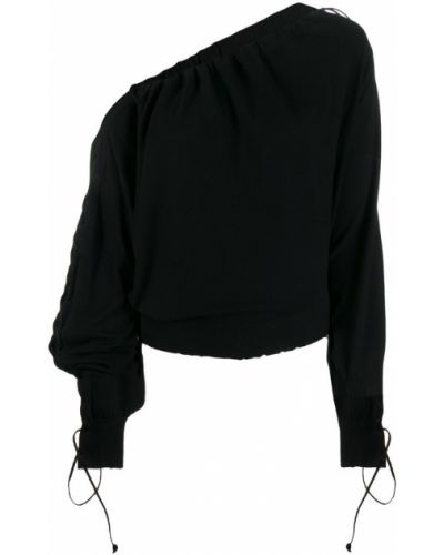 Блузка с длинным рукавом с рюшами со шнуровкой Unravel Project