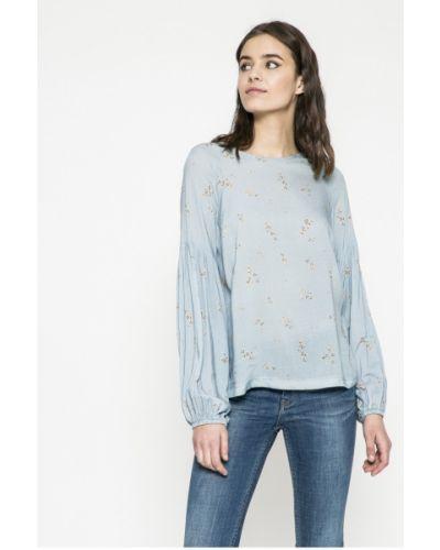 Блузка с вырезом из вискозы Answear