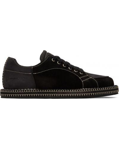 Buty sportowe na obcasie - czarne Jacquemus