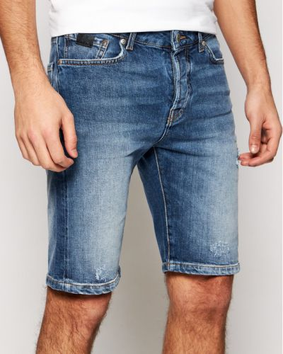 Szorty jeansowe - niebieskie John Richmond