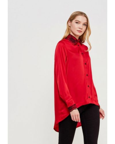 Блузка осенняя красная Sahera Rahmani