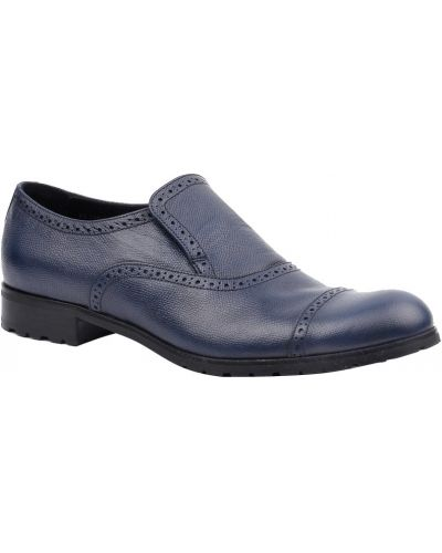 Синие туфли Armani Collezioni