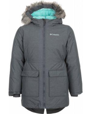 Зимняя куртка с капюшоном утепленная Columbia