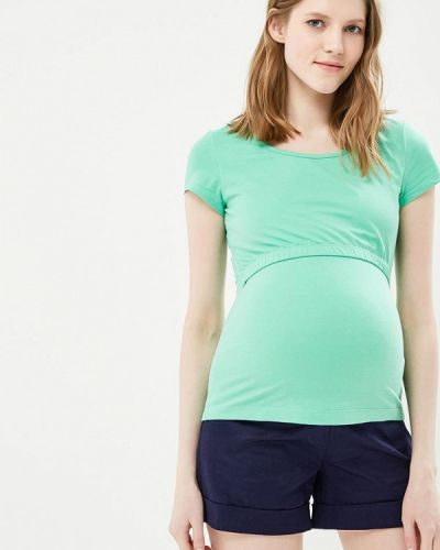 Зеленая футболка Mammysize