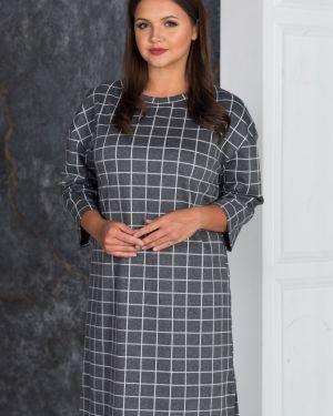 Платье миди с открытой спиной с разрезами по бокам Victoria Filippova